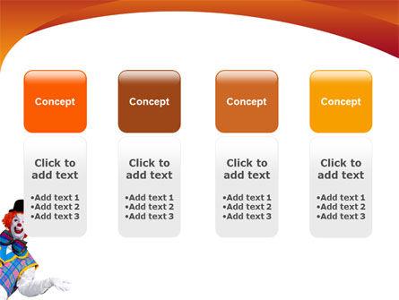 Clown PowerPoint Template Slide 5