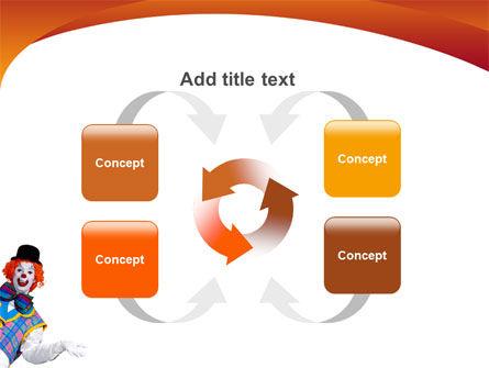 Clown PowerPoint Template Slide 6