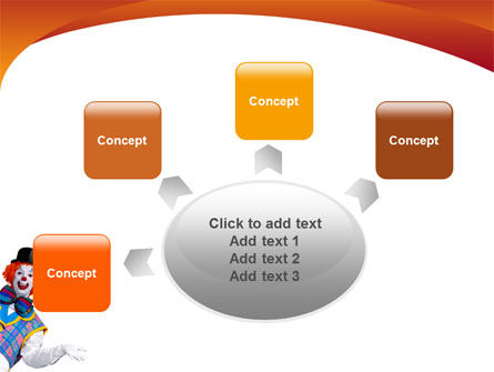 Clown PowerPoint Template Slide 7