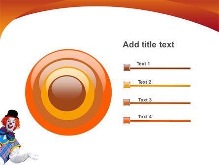 Clown PowerPoint Template Slide 9