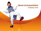 Holiday/Special Occasion: Clown PowerPoint Template #02801
