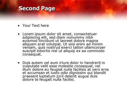 Fire Alarm PowerPoint Template, Slide 2, 02804, People — PoweredTemplate.com