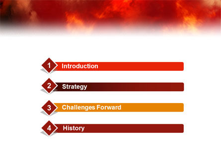Fire Alarm PowerPoint Template, Slide 3, 02804, People — PoweredTemplate.com