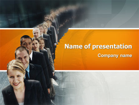 Consulting: Personnel PowerPoint Template #02805