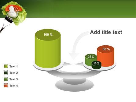 Salad PowerPoint Template Slide 10