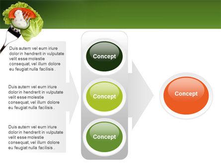 Salad PowerPoint Template Slide 11