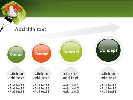 Salad PowerPoint Template Slide 13