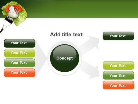 Salad PowerPoint Template Slide 14