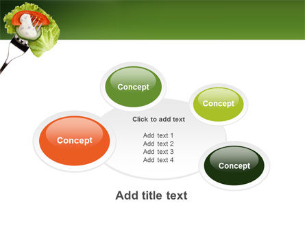 Salad PowerPoint Template Slide 16