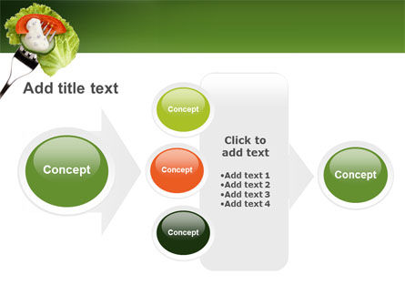 Salad PowerPoint Template Slide 17