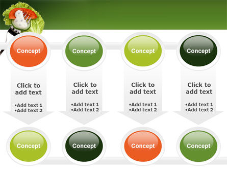 Salad PowerPoint Template Slide 18