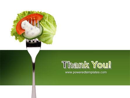 Salad PowerPoint Template Slide 20
