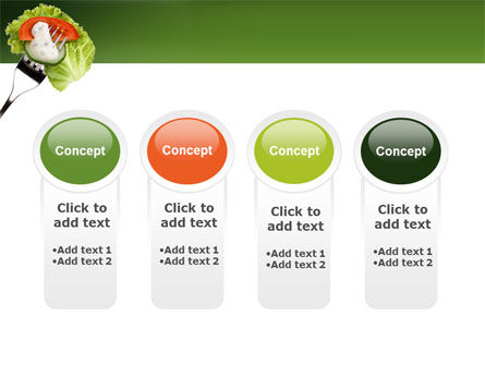 Salad PowerPoint Template Slide 5