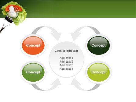 Salad PowerPoint Template Slide 6