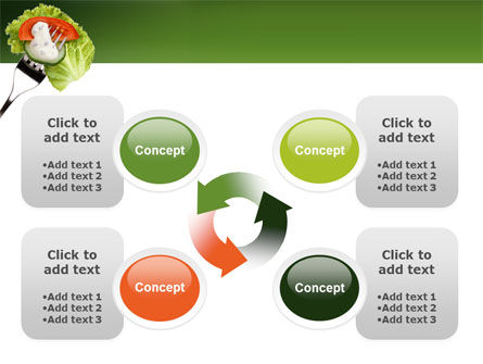Salad PowerPoint Template Slide 9