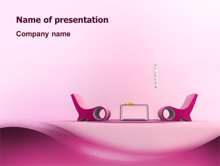 Modern Interior Design PowerPoint Template, 02808, Construction — PoweredTemplate.com