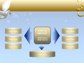 Dove of Peace PowerPoint Template#13