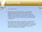 Dove of Peace PowerPoint Template#2