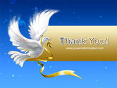 Dove of Peace PowerPoint Template#20