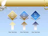 Dove of Peace PowerPoint Template#5