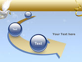 Dove of Peace PowerPoint Template#6