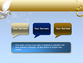 Dove of Peace PowerPoint Template#9
