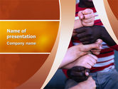 Education & Training: Friendship PowerPoint Template #02812