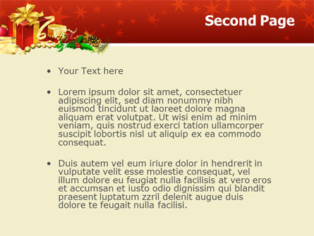 Holiday Season PowerPoint Template, Slide 2, 02813, Holiday/Special Occasion — PoweredTemplate.com