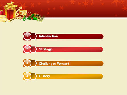 Holiday Season PowerPoint Template Slide 3