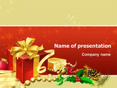 Holiday/Special Occasion: Holiday Season PowerPoint Template #02813