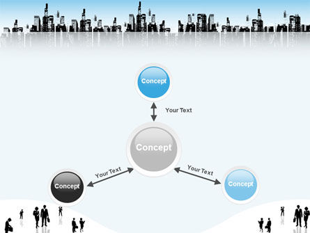 City PowerPoint Template Slide 14