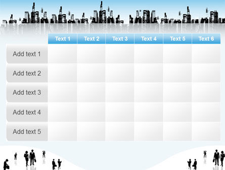 City PowerPoint Template Slide 15
