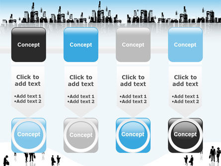 City PowerPoint Template Slide 18