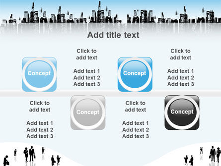 City PowerPoint Template Slide 19