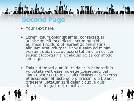 City PowerPoint Template, Slide 2, 02814, Business — PoweredTemplate.com