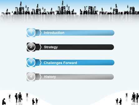 City PowerPoint Template, Slide 3, 02814, Business — PoweredTemplate.com