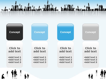 City PowerPoint Template Slide 5