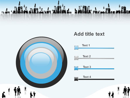 City PowerPoint Template Slide 9
