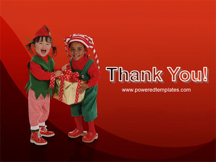 Christmas Kids PowerPoint Template Slide 20