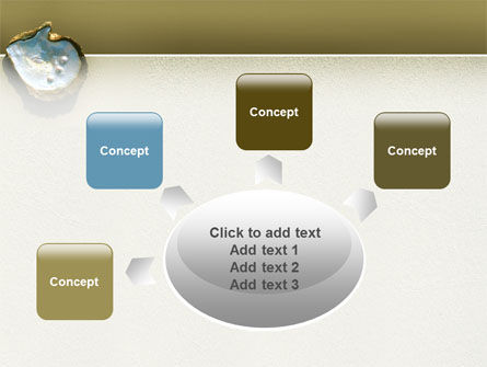 Pearls and Shell PowerPoint Template Slide 7