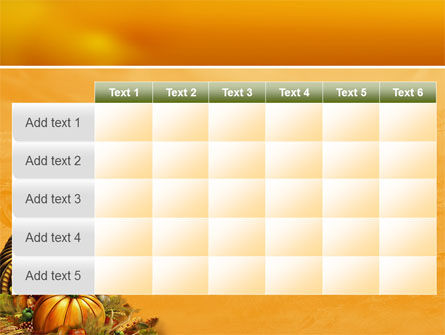 Thanksgiving Day Free PowerPoint Template Slide 15