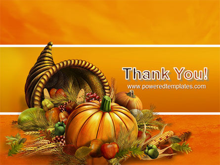 Thanksgiving Day Free PowerPoint Template Slide 20