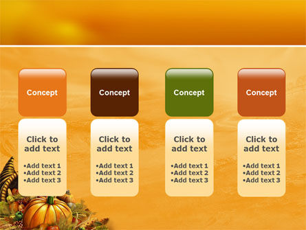 Thanksgiving Day Free PowerPoint Template Slide 5