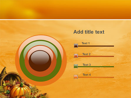 Thanksgiving Day Free PowerPoint Template Slide 9