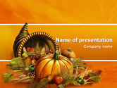 Holiday/Special Occasion: Thanksgiving Day Free PowerPoint Template #02819