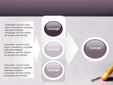 Undo PowerPoint Template Slide 11