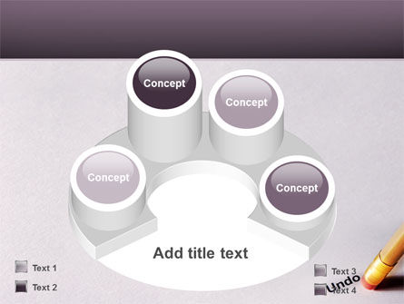 Undo PowerPoint Template Slide 12