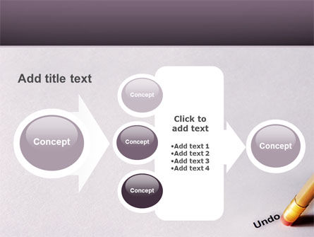 Undo PowerPoint Template Slide 17