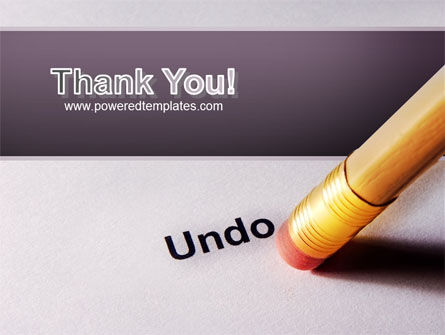 Undo PowerPoint Template Slide 20