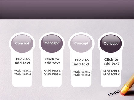 Undo PowerPoint Template Slide 5